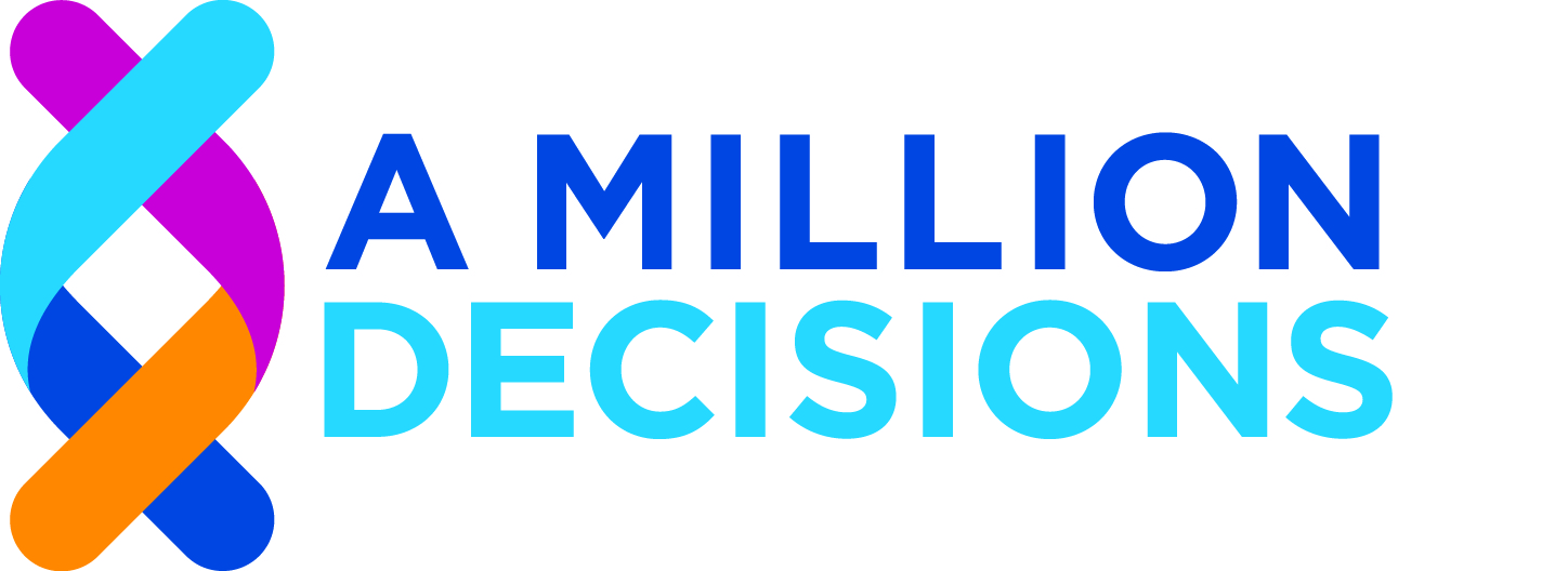 A Million Decisions logo